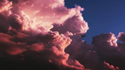 Aesthetic Pink Clouds